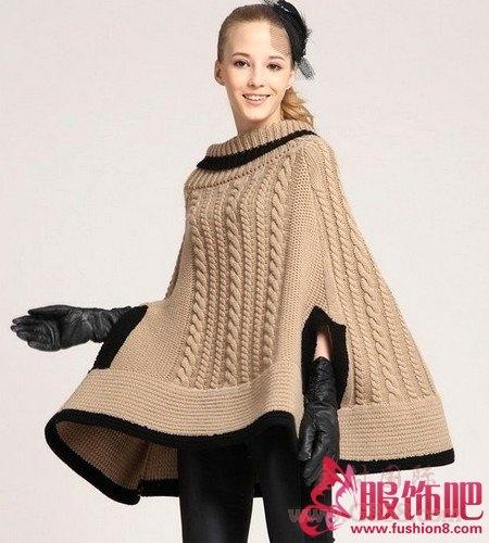 玩转毛衣搭配 秋季服饰可以与众不同